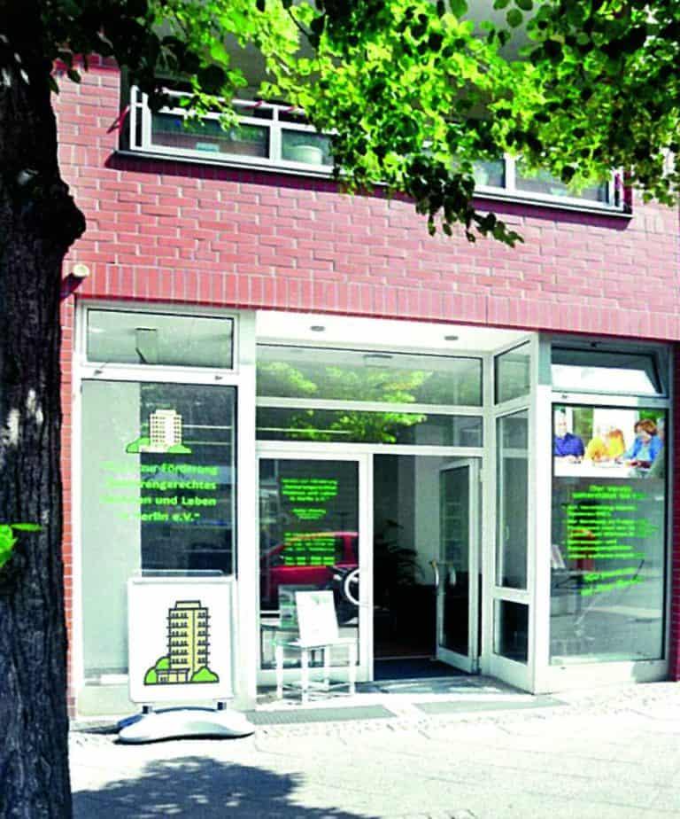Unser Büro ein der Pistoriusstraße 33